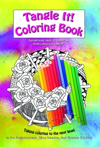 Tangle It! Coloring Book